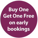 Buy One Get One Free on early bookings