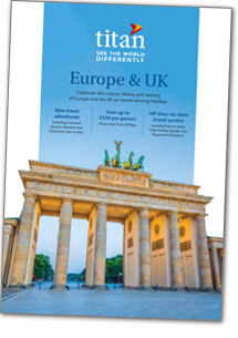 Europe brochure cover