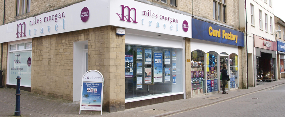 Miles Morgan Travel Agent Cirencester