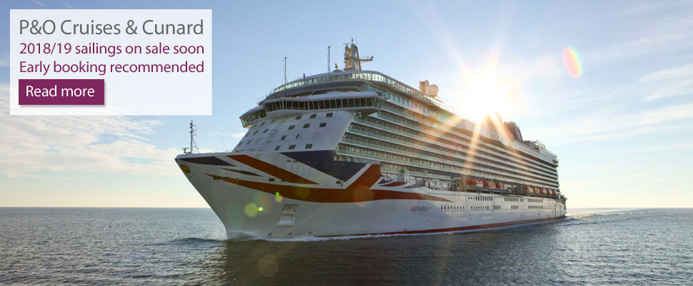 P&O Cruises and Cunard