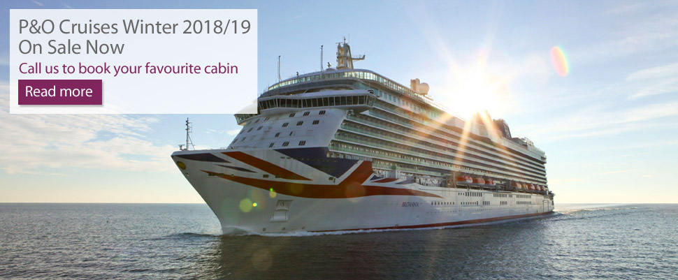 P&O Cruises Winter 2018/19 On Sale Now